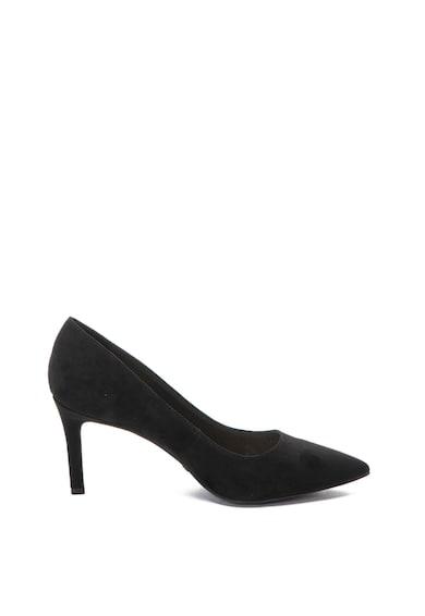 Buffalo Обувки с еко велур и висок ток Жени