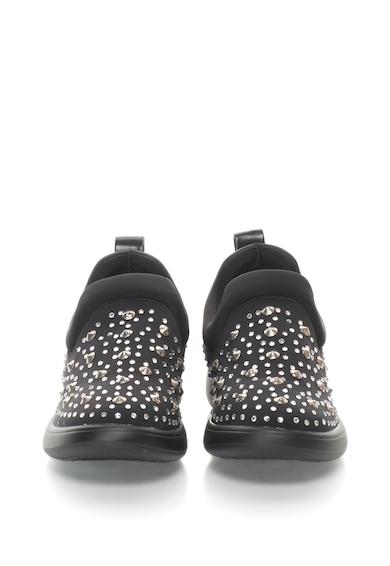 Oakoui Pantofi slip-on cu nituri si strasuri Elena Femei
