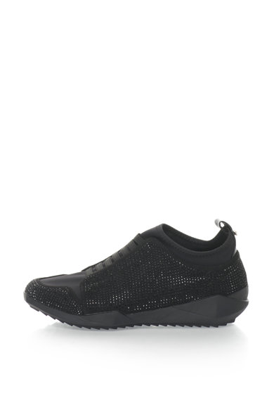 Oakoui Pantofi sport slip-on cu strasuri Femei