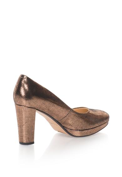 Clarks Кожени обувки с висок ток Жени