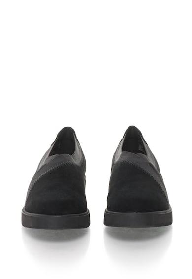 Clarks Pantofi de piele intoarsa Bellevue Cedar Femei