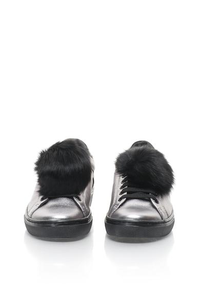 Tosca Blu Pantofi sport de piele cu ciucure Cervinia Femei