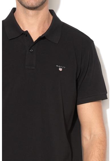 Gant Tricou polo regular fit cu logo brodat 2 Barbati