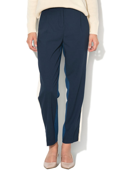 United Colors of Benetton Pantaloni baggy cu segmente contrastante Femei