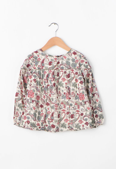 Pepe Jeans London Bluza cu imprimeu floral Tora Fete