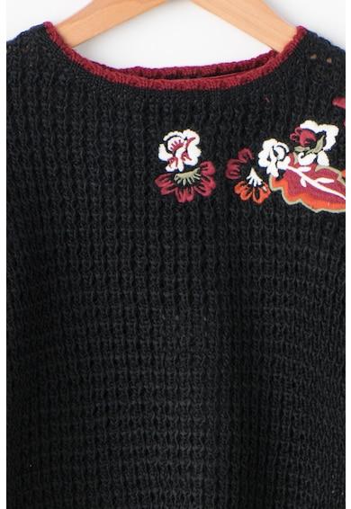 Pepe Jeans London Pulover cu flori brodate GLADYS Fete