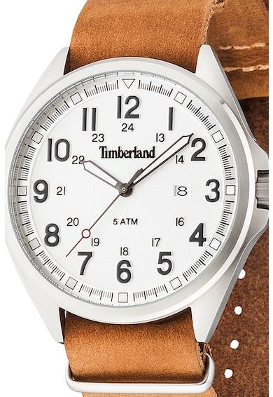 Timberland Ceas cu trei indicatoare si o curea de piele Barbati