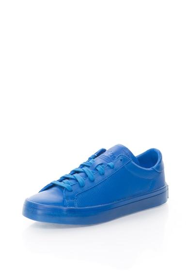 Adidas ORIGINALS Pantofi sport albastri Court Vantage Adicolor Barbati