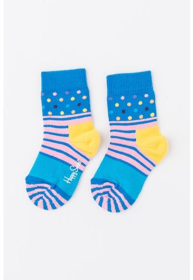 Happy Socks Mintás 3/4 Zokni Lány