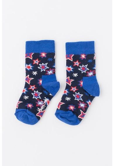 Happy Socks Set de sosete 3/4 cu imprimeu - 2 perechi Fete