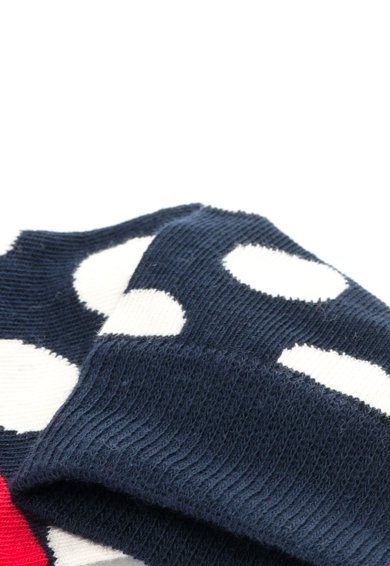 Happy Socks Set de sosete 3/4 cu diverse modele, unisex - 4 perechi Femei