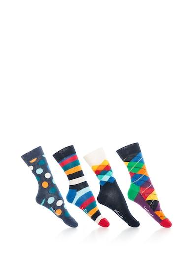 Happy Socks Унисекс комплект 3/4 чорапи, 4 чифта Жени