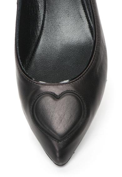 Love Moschino Balerini de piele, cu varf ascutit Femei