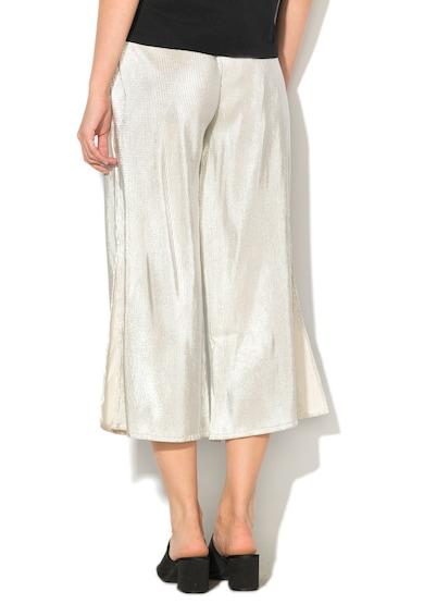 Alcott Pantaloni culotte cu pliuri si talie inalta Femei