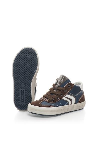 Geox Pantofi sport mid-high cu garnituri de piele intoarsa Alonisso Baieti