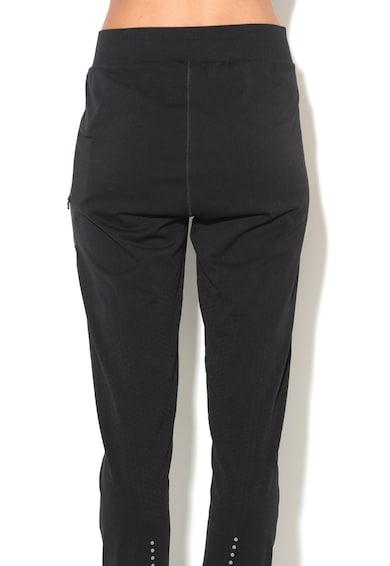 Asics Панталон с ниско дъно и странични джобове с цип за фитнес Жени