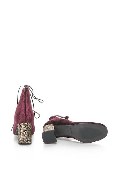 Zee Lane Collection Pantofi catifelati cu siret Femei