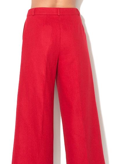 Pepe Jeans London Pantaloni cu croiala ampla din amestec de lana Hilda Femei