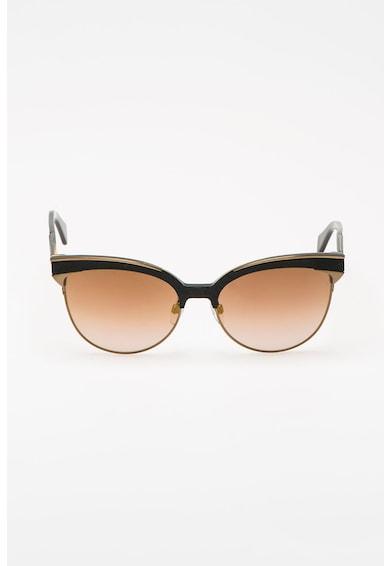 Diesel Ochelari de soare cat eye cu lentile oglinda Femei