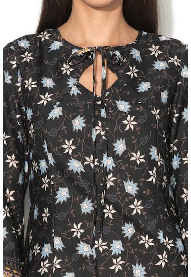 Iska Разкроена къса рокля с флорална шарка Жени