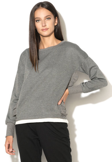 Vero Moda Bluza cu maneci lungi si volane Frilly Femei