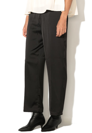 Vero Moda Pantaloni crop lejeri matasosi Ayla Femei