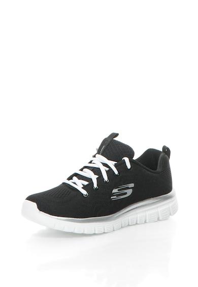 Skechers Мрежести спортни обувки Graceful Get Connected Жени