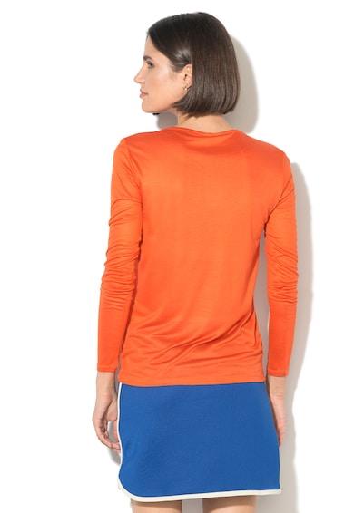 United Colors of Benetton Bluza din modal cu decolteu barcuta cu drapaje Femei