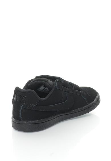 Nike Pantofi sport de piele intoarsa cu velcro Court Royale Baieti
