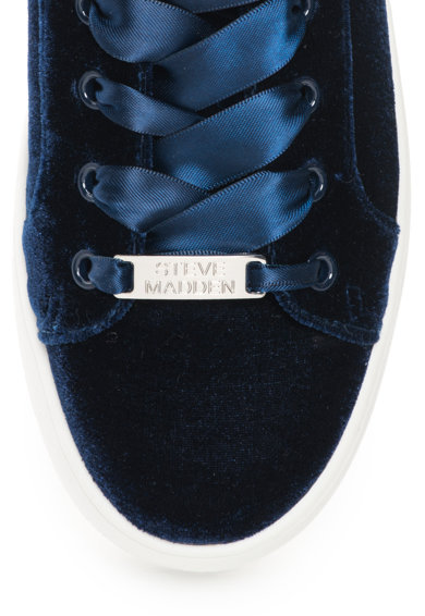 Steve Madden Pantofi sport flatform din catifea Bertie-V Femei
