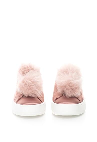 Steve Madden Pantofi sport slip-on flatform cu blana sintetica Breeze Femei