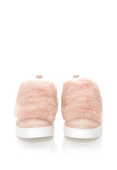 Aldo Pantofi slip-on cu blana sintetica Athelina Femei
