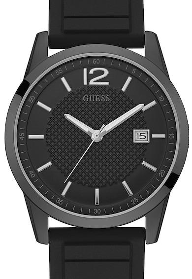 Guess Часовник PERRY със силиконова каишка Мъже
