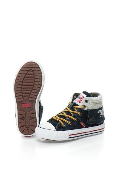 Levi's Farmer Sneakers Cipő Irha Hatású Részletekkel Lány