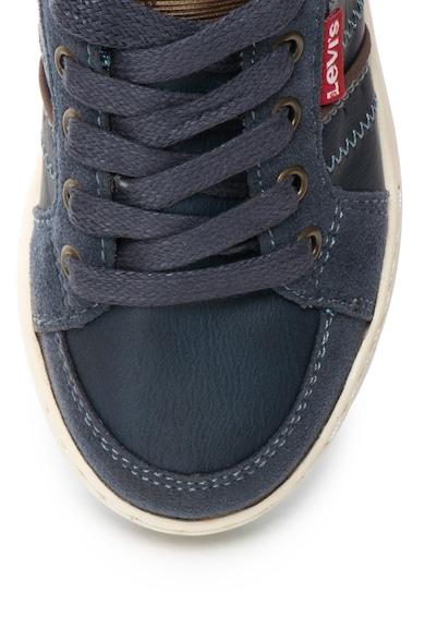 Levi's Pantofi sport cu insertii din denim Club Baieti