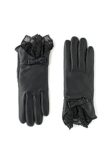 Guess Кожени ръкавици с дантела Жени