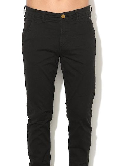 BLEND Панталон чино от еластична материя Мъже
