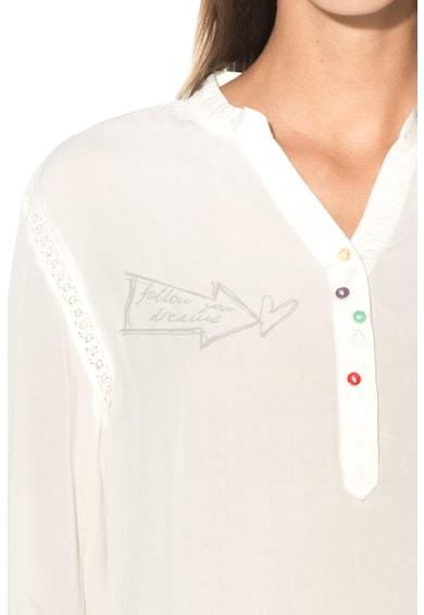 DESIGUAL Bluza cu terminatie cu imprimeu floral Brigitte Femei