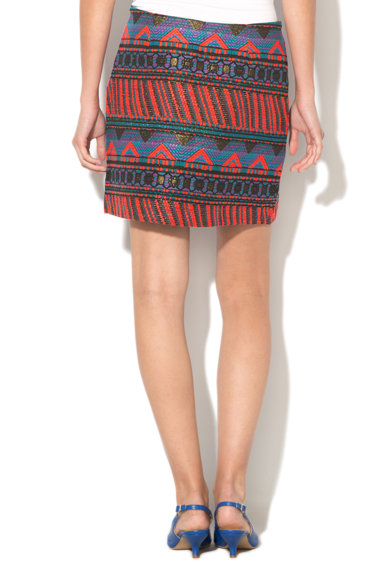DESIGUAL Fusta mini cu model etnic Granada Femei