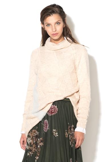 DESIGUAL Pulover cu guler inalt de tricot Bordado Femei