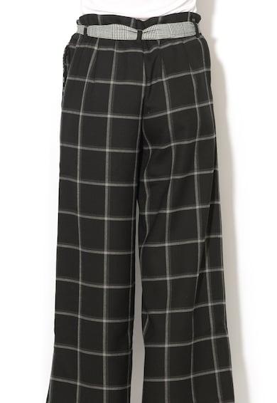 DESIGUAL Pantaloni culotte cu talie inalta Flora Femei