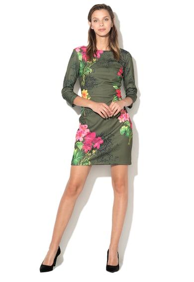 DESIGUAL Rochie bodycon cu model floral Minas Femei