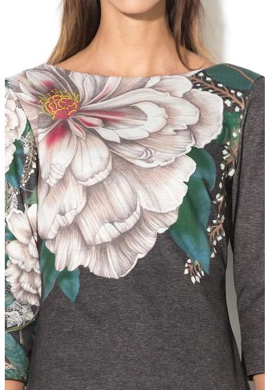DESIGUAL Rochie scurta cu model floral Pichi Femei