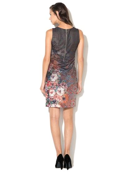 DESIGUAL Рокля по тялото Tormenta с декоративни ципове Жени