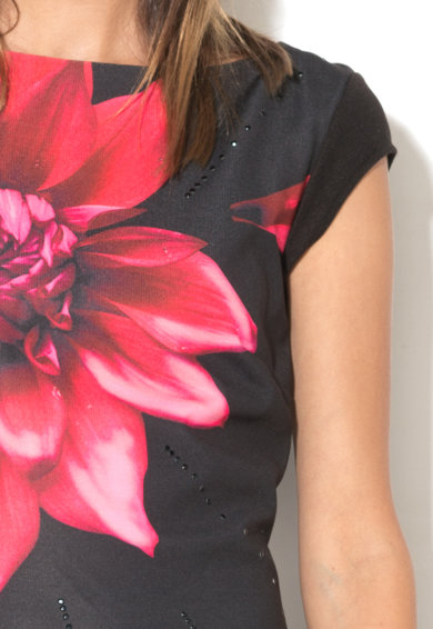 DESIGUAL Rochie dreapta cu model floral Ulianne Femei