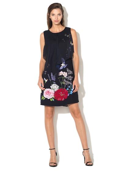 DESIGUAL Rochie dreapta cu imprimeu floral Evita Femei