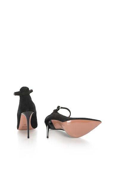 Zee Lane Pantofi stiletto de piele intoarsa cu bareta pe glezna Denise Femei
