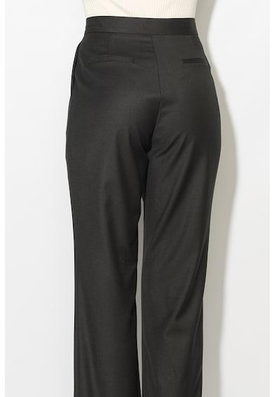 Zee Lane Pantaloni conici cu terminatii rasucite Femei