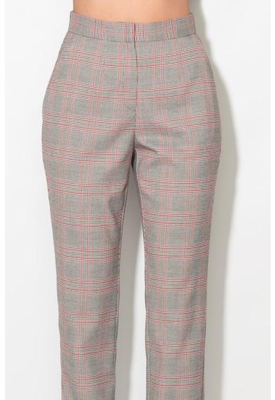 Zee Lane Pantaloni cu imprimeu tartan Femei