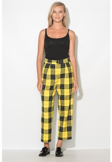 Zee Lane Pantaloni cu talie inalta Femei